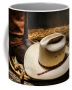 Cowboy Hat On Lasso Coffee Mug