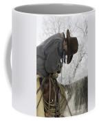 Cowboy Sleeps In The Saddle Coffee Mug