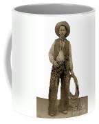 Cowboy With Woolies Cowboy Hat 1900 Coffee Mug
