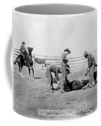 Cowboys, 1888 Coffee Mug