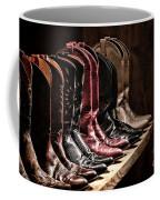 Cowgirl Boots Collection Coffee Mug