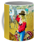 Cowgirl Waiting Coffee Mug