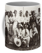 Cowgirls, 1910 Coffee Mug