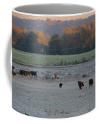 Cows At Sunrise Coffee Mug