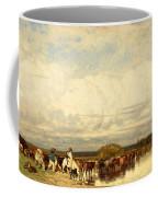 Cows Crossing A Ford Coffee Mug