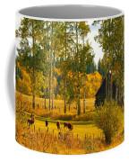 Cows Grazing 3 Coffee Mug