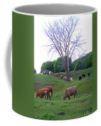 Cows In Rolling Hills Coffee Mug