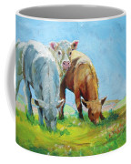 Cows Landscape Coffee Mug