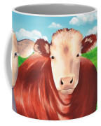 Cows Out To Pasture Coffee Mug