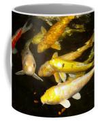 Coy Koi Coffee Mug