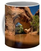 Coyote Natural Bridge - Coyote Gulch - Utah Coffee Mug by Gary Whitton