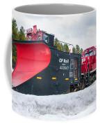 Cp Rail Plow Coffee Mug