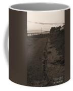 Crab Catching In Masset Coffee Mug