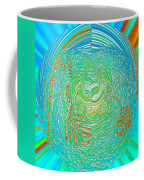 Crab In Plastic Wrap Abstract Coffee Mug