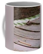 Crab On The Pier  Coffee Mug