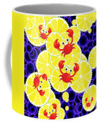 Crabs On Lemon Coffee Mug