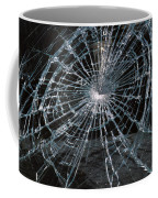 Cracked Glass Of Car Windshield Coffee Mug