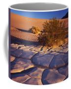 Cracked Mud - Sand Ripples 3 Coffee Mug