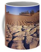 Cracked Mud - Sand Ripples Coffee Mug
