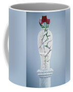 Cracked Urn Coffee Mug by Lincoln Seligman