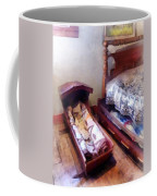 Cradle With Quilt Coffee Mug