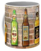 Craft Beer Collection On Brick Coffee Mug