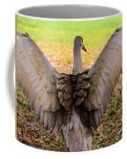 Crane Spreading Wings Coffee Mug