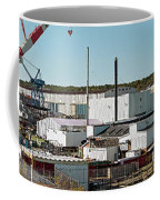 Cranes At Metal Factory, Bath Coffee Mug