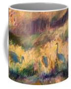 Cranes In The Grain Coffee Mug