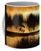 Cranes On Golden Pond Coffee Mug