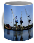 Cranes On The River Bank Coffee Mug