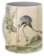 Cranes Pines And Bamboo Coffee Mug