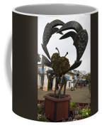 Crap Sculpture Fisherman's Wharf San Francisco Coffee Mug