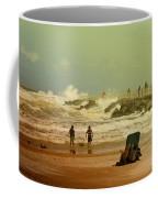 Crash Of The Waves Coffee Mug