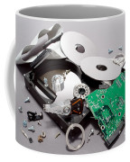 Crashed Coffee Mug by Olivier Le Queinec