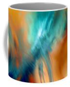 Crashing At Sea Abstract Painting 4 Coffee Mug