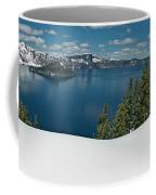 Crater Lake Panorama Coffee Mug