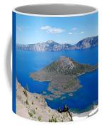 Crater Lake Wizard Island Coffee Mug