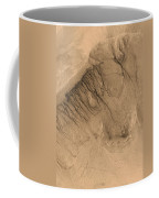 Crater On Mars Coffee Mug