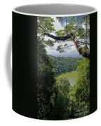 craterlake in Montagne d'Ambre National Park Madagascar Coffee Mug