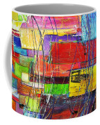 Crazy Abstract Coffee Mug