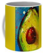 Crazy Avocado 4 - Modern Art Coffee Mug