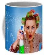Crazy Girl Cleaning Coffee Mug
