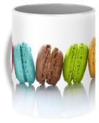 Crazy Macarons Horizontal Coffee Mug