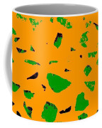 Creamsicle Orange Abstract Coffee Mug