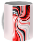 Creamy Red Graphic Coffee Mug