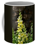 Creamy Yellow Snapdragon Coffee Mug