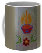Creative Diya Rangoli Coffee Mug