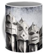 Creatures Of La Pedrera Bw Coffee Mug