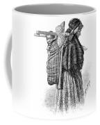 Cree Indian Squaw And Papoose Coffee Mug